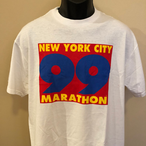 Vintage Other - 1999 New York City Marathon Tee Shirt 90s Race Run